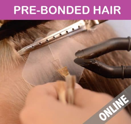 Online-course-pre-bonded-hair-extensions-